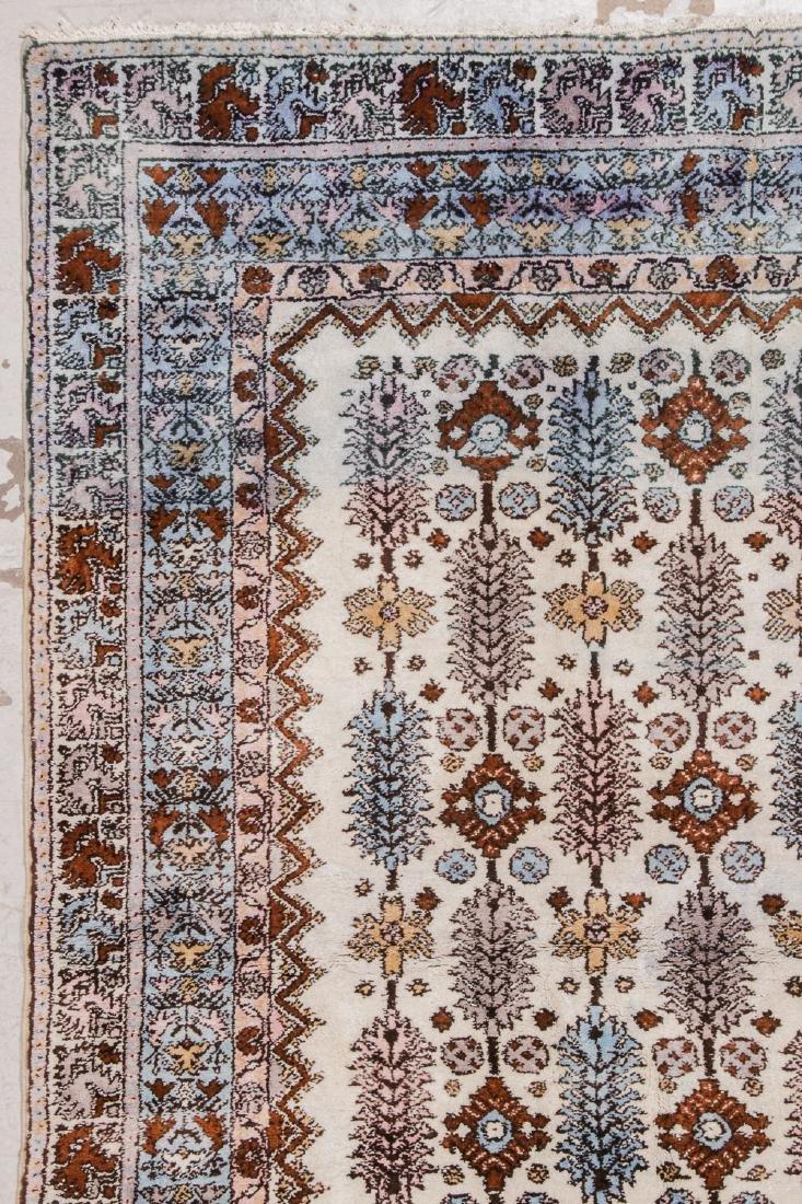 Vintage Moroccan Rug: 7'7'' x 8'0'' - 3