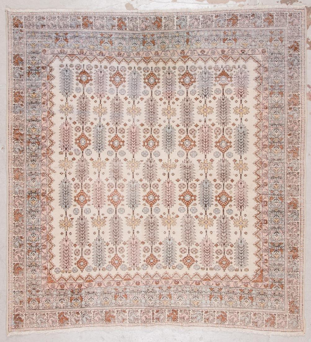 Vintage Moroccan Rug: 7'7'' x 8'0'' - 7