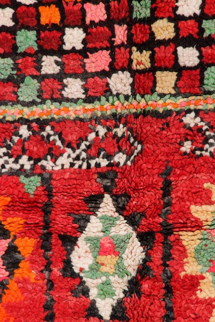 Vintage Moroccan Rug: 6'2'' x 8'0'' - 2