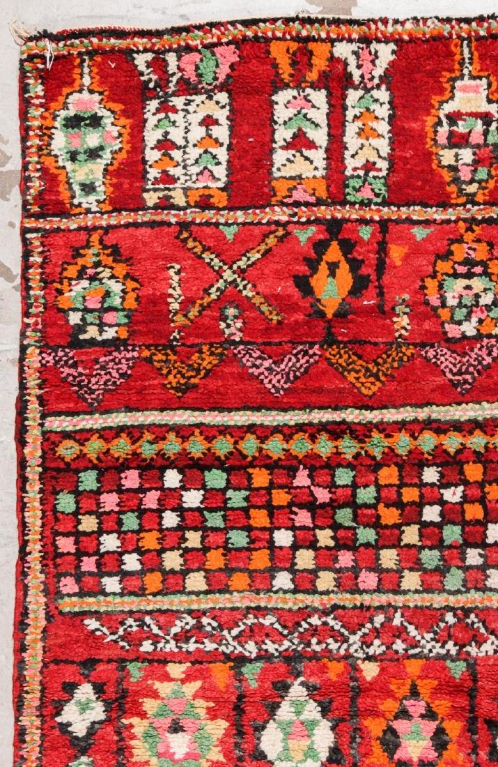 Vintage Moroccan Rug: 6'2'' x 8'0'' - 3