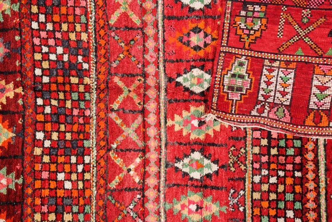 Vintage Moroccan Rug: 6'2'' x 8'0'' - 4