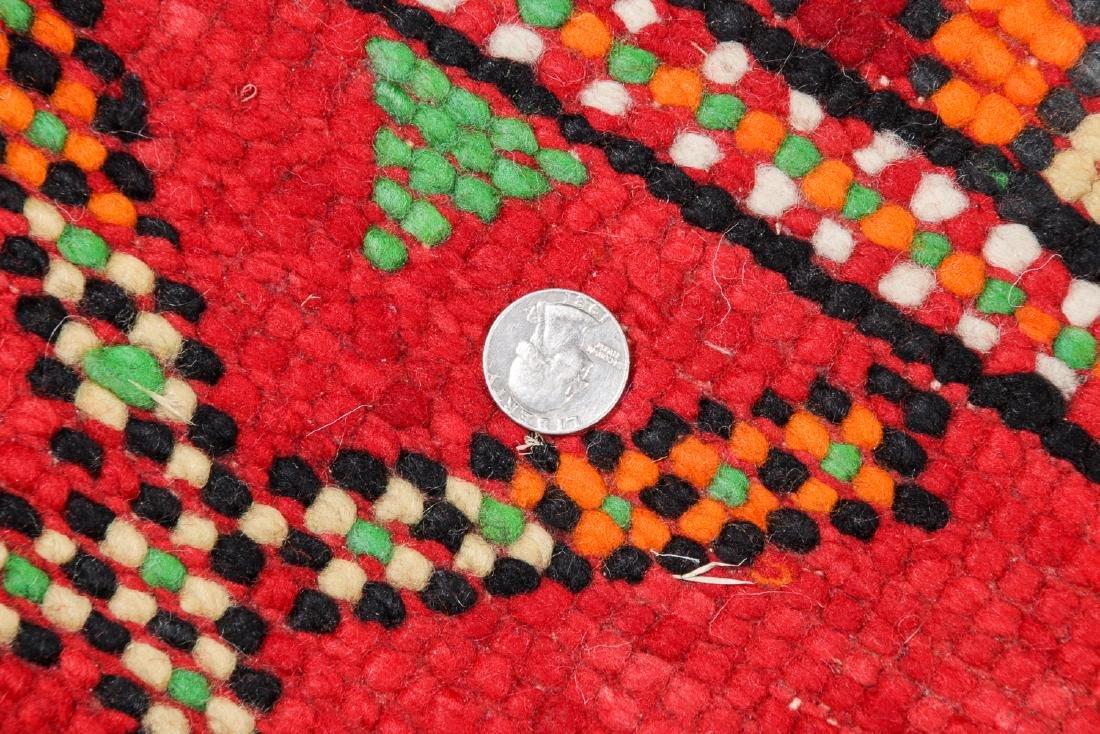 Vintage Moroccan Rug: 6'2'' x 8'0'' - 5
