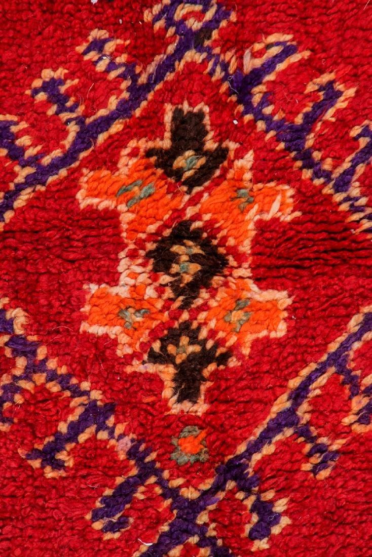 Vintage Moroccan Rug: 4'1'' x 9'10'' - 2