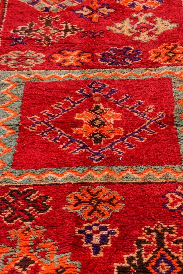 Vintage Moroccan Rug: 4'1'' x 9'10'' - 6