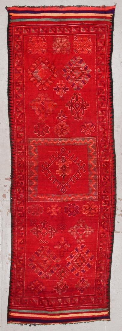 Vintage Moroccan Rug: 4'1'' x 9'10'' - 7