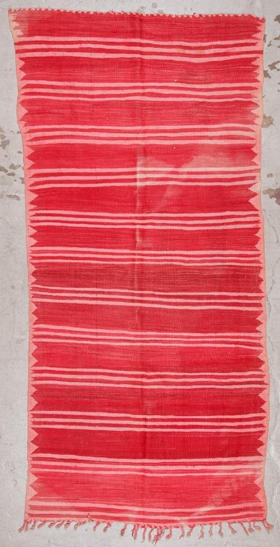 Vintage Moroccan Kilim: 4'11'' x 10'4''