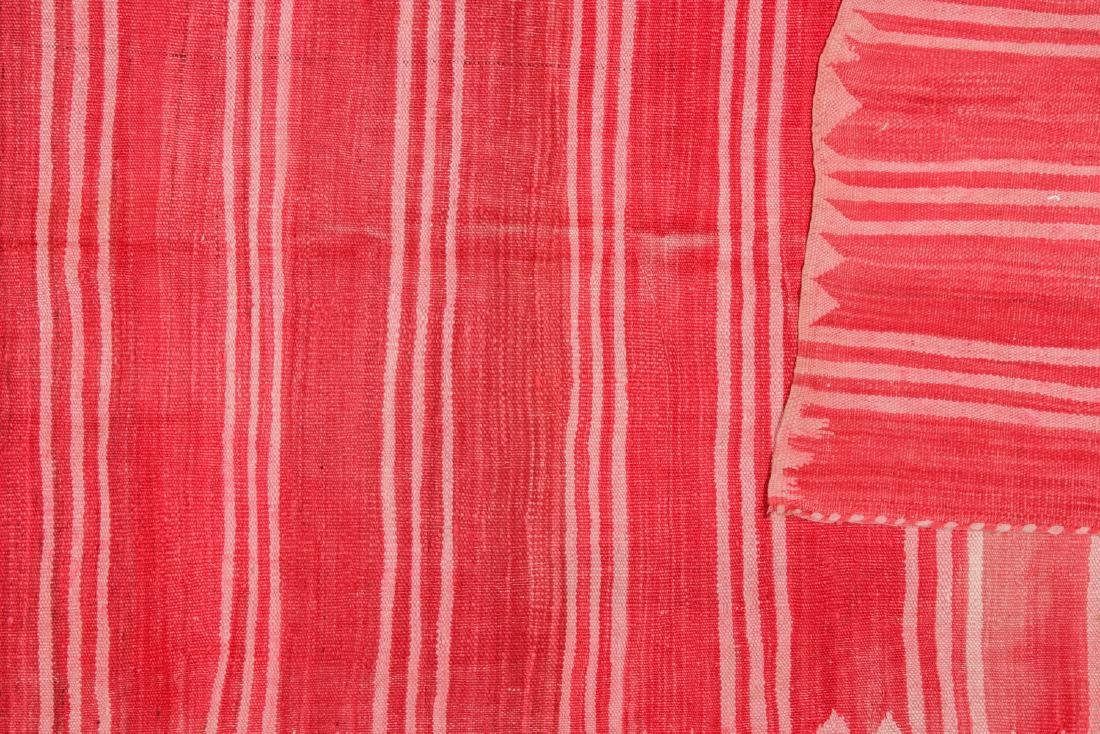 Vintage Moroccan Kilim: 4'11'' x 10'4'' - 4