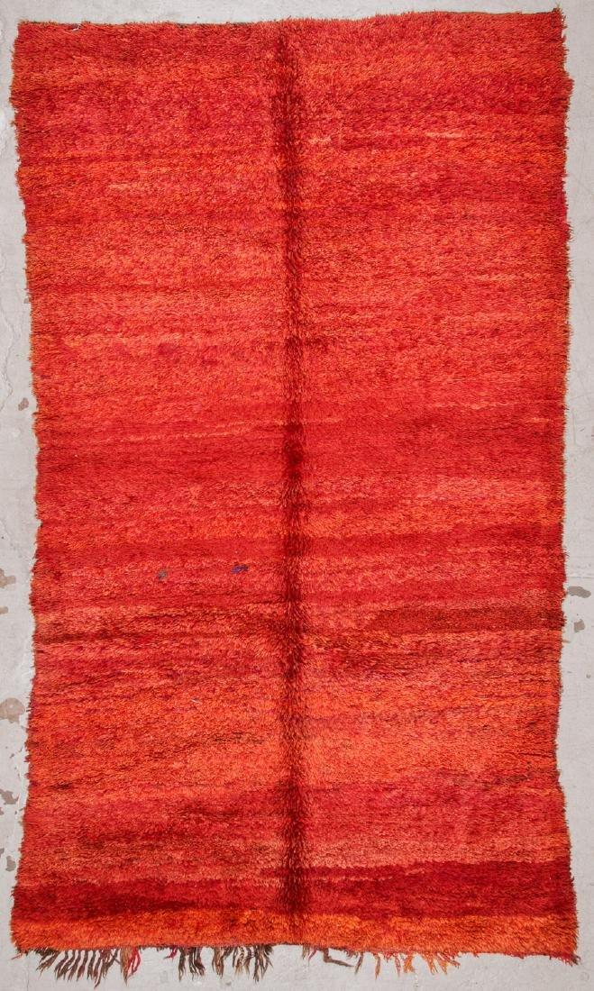 Vintage Moroccan Rug: 6'0'' x 10'6''