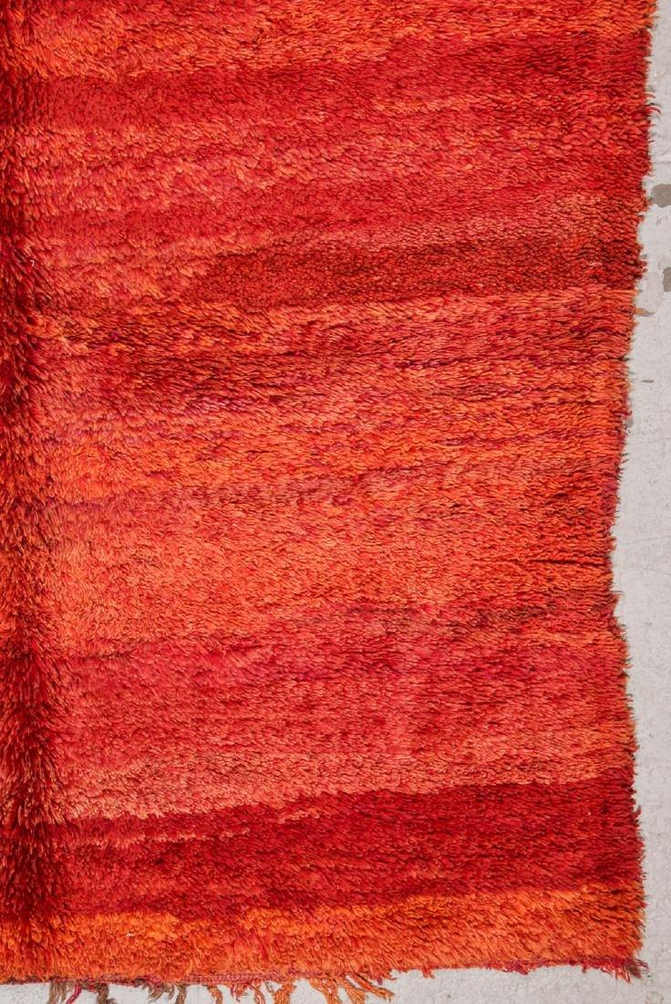 Vintage Moroccan Rug: 6'0'' x 10'6'' - 3