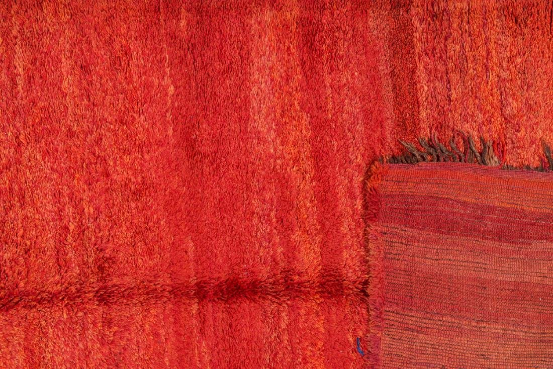 Vintage Moroccan Rug: 6'0'' x 10'6'' - 4