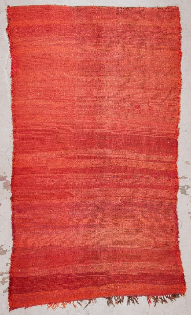 Vintage Moroccan Rug: 6'0'' x 10'6'' - 7