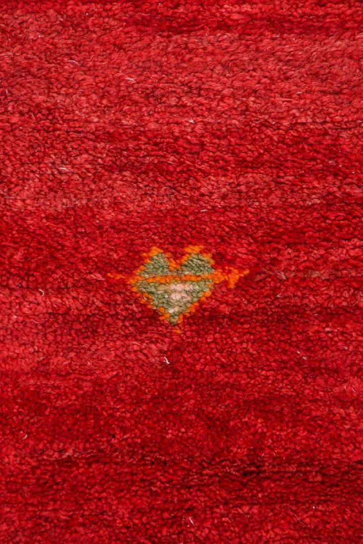 Vintage Moroccan Rug: 3'5'' x 10'5'' - 2