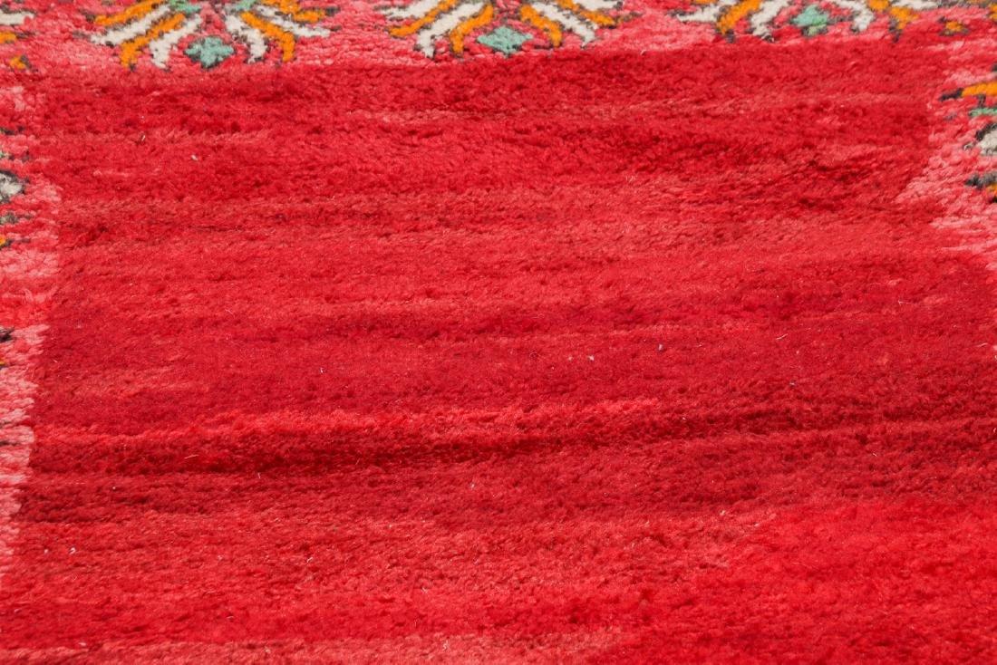 Vintage Moroccan Rug: 3'5'' x 10'5'' - 6