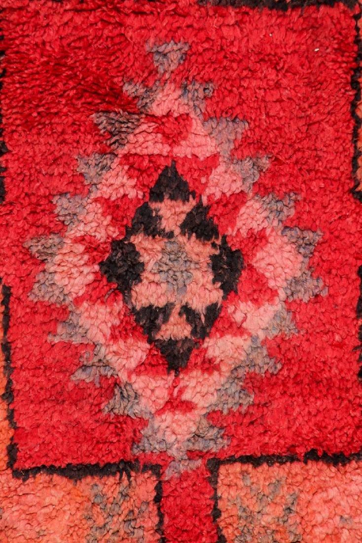 Vintage Moroccan Rug: 5'4'' x 13'9'' - 2