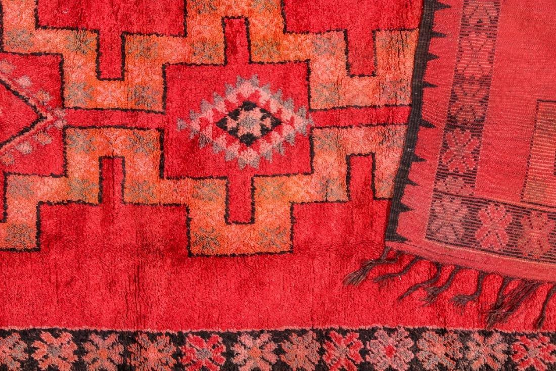 Vintage Moroccan Rug: 5'4'' x 13'9'' - 4