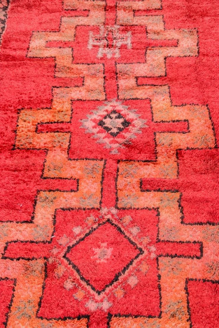 Vintage Moroccan Rug: 5'4'' x 13'9'' - 6