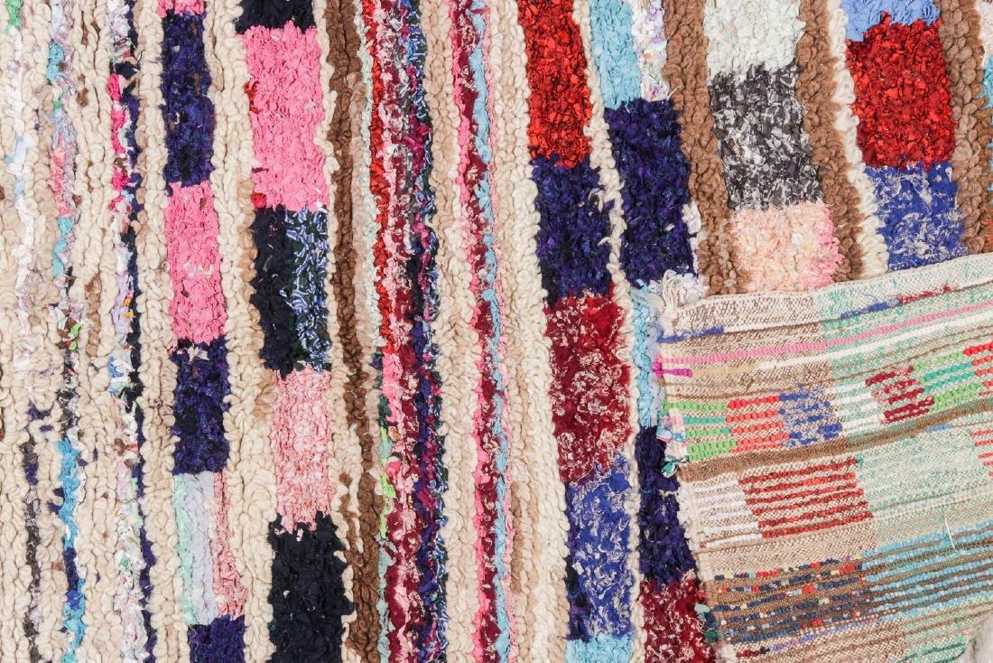 Vintage Moroccan Rug: 4'7'' x 5'11'' - 4