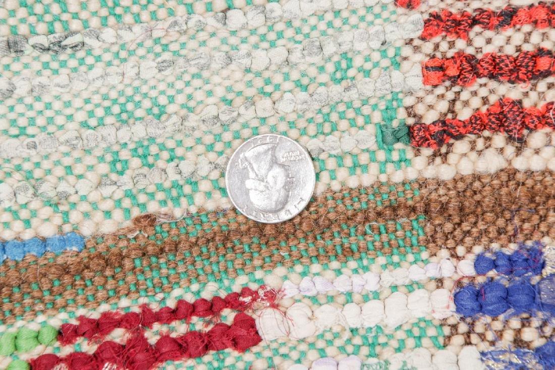Vintage Moroccan Rug: 4'7'' x 5'11'' - 5
