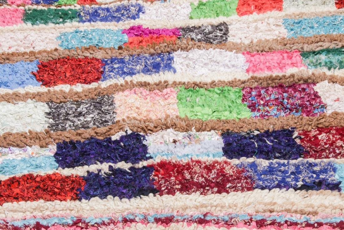 Vintage Moroccan Rug: 4'7'' x 5'11'' - 6