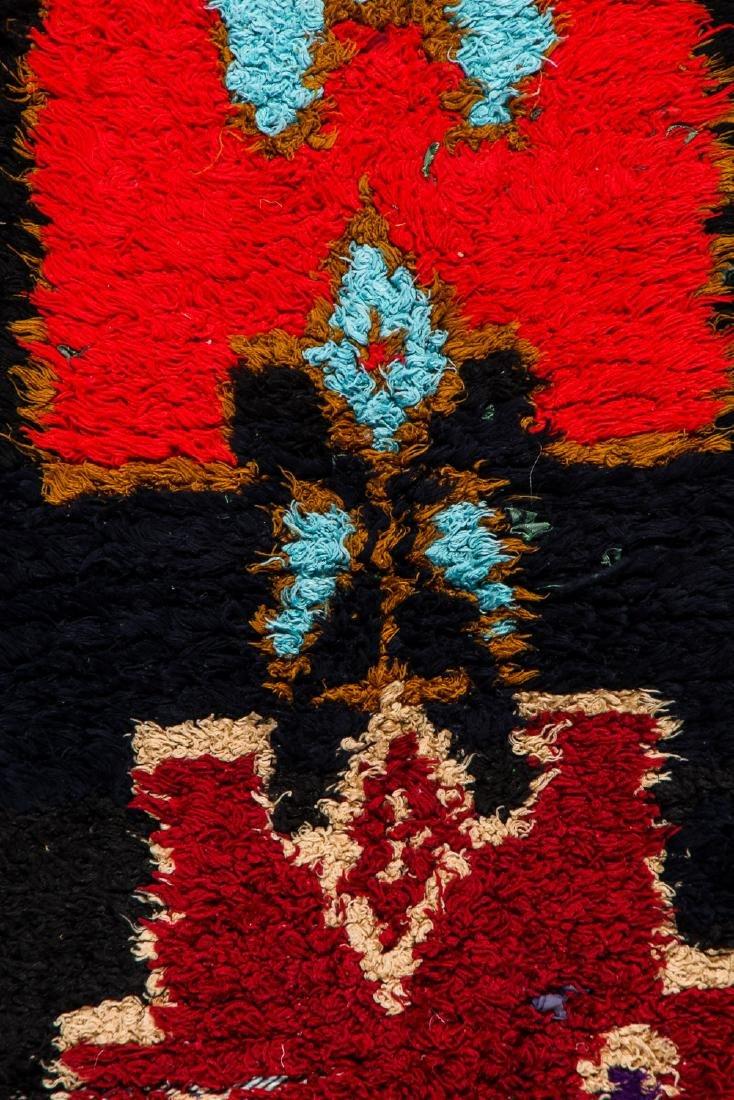 Vintage Moroccan Rug: 2'9'' x 6'8'' - 2