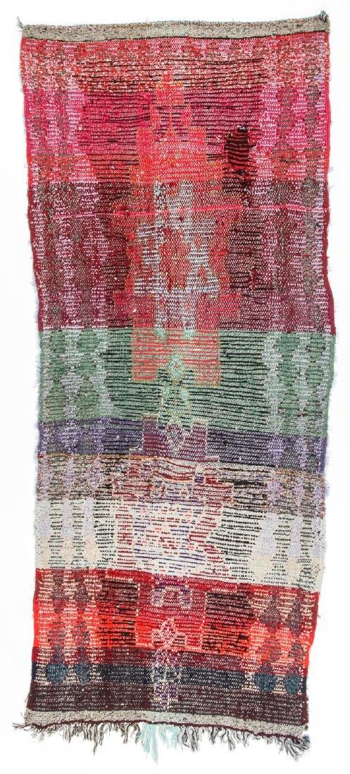 Vintage Moroccan Rug: 2'9'' x 6'8'' - 6