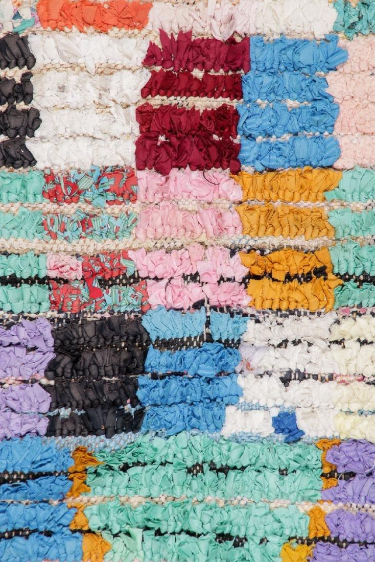 Vintage Moroccan Rug: 5'10'' x 8'2'' - 2
