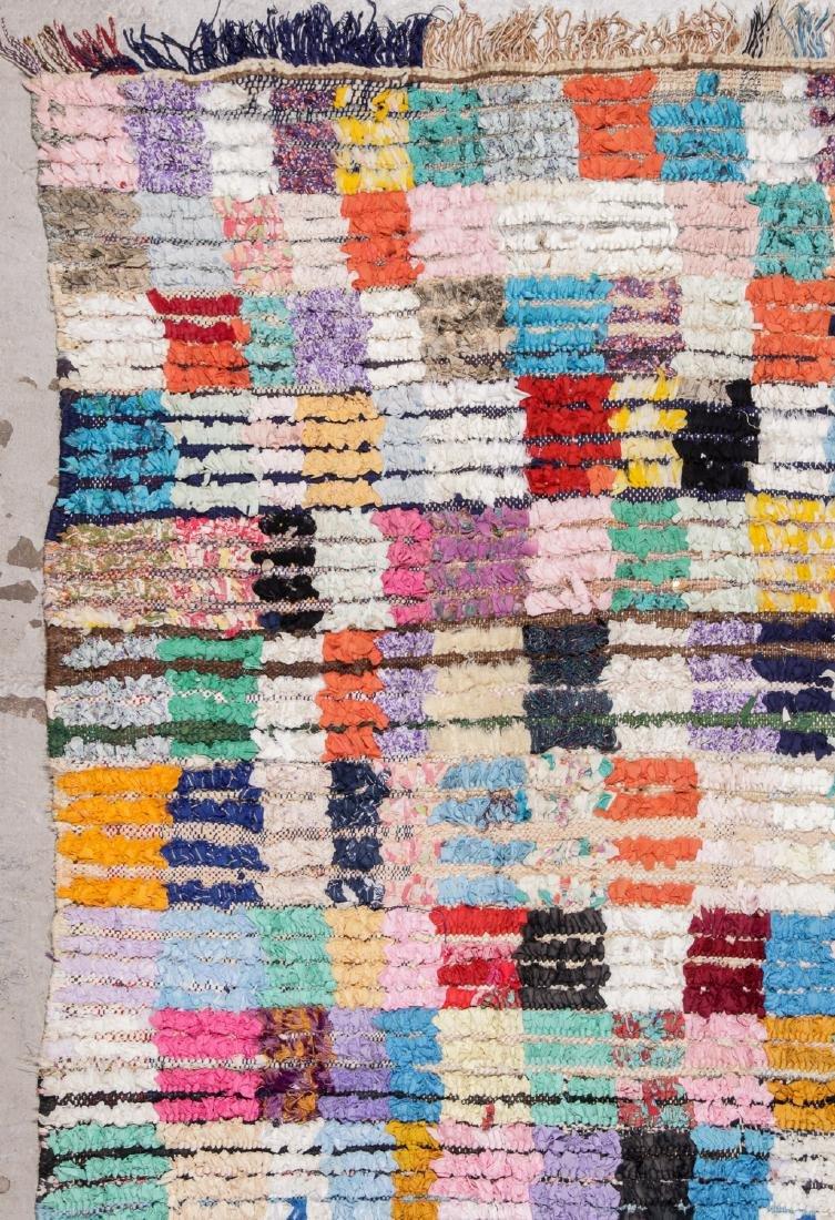 Vintage Moroccan Rug: 5'10'' x 8'2'' - 3