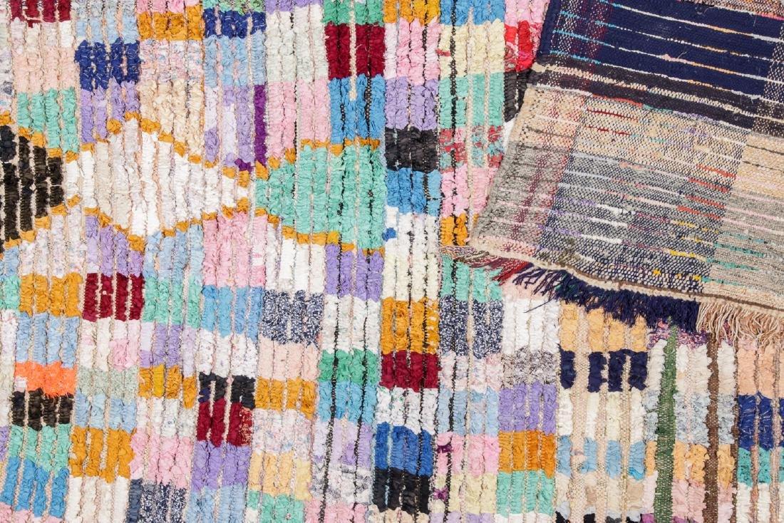 Vintage Moroccan Rug: 5'10'' x 8'2'' - 4