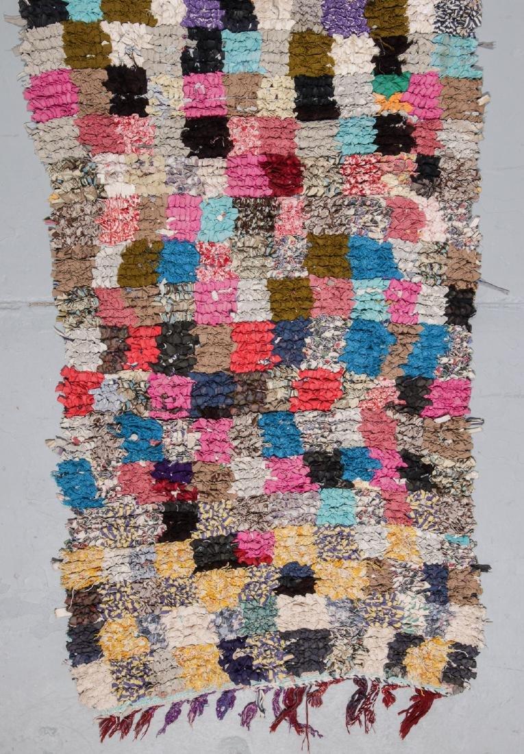 Vintage Moroccan Rug: 3'6'' x 7'10'' - 2
