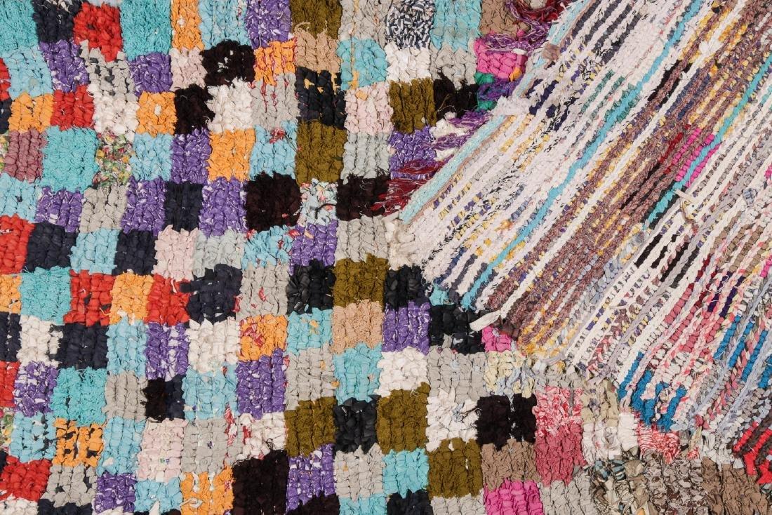 Vintage Moroccan Rug: 3'6'' x 7'10'' - 4