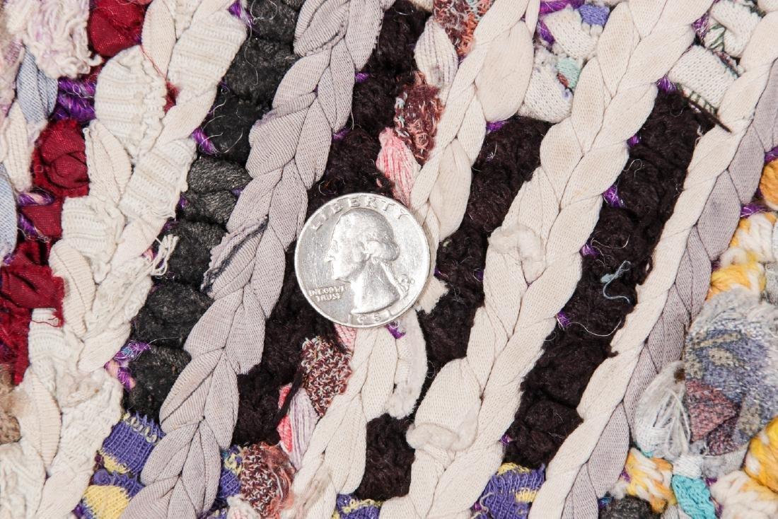 Vintage Moroccan Rug: 3'6'' x 7'10'' - 5