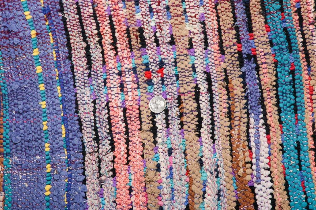 Vintage Moroccan Rug: 3'10'' x 7'8'' - 5
