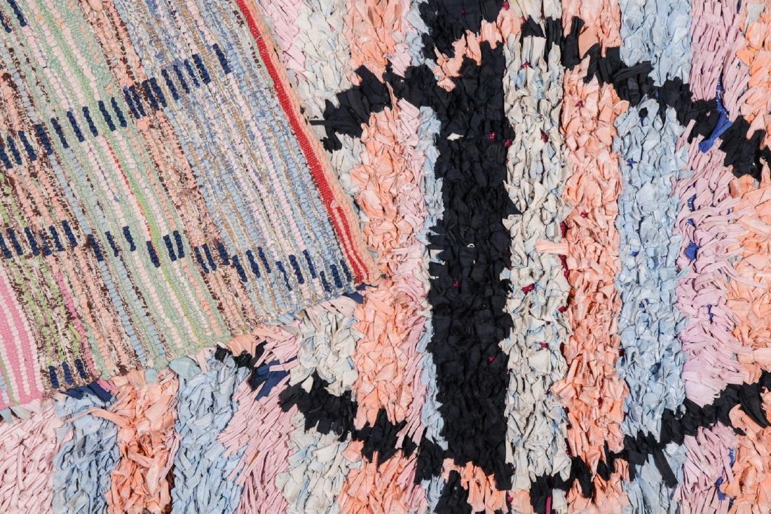 Vintage Moroccan Rug: 2'5'' x 7'11'' - 4