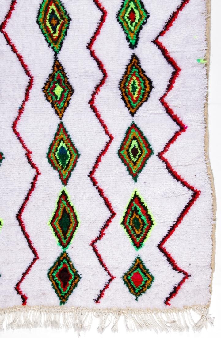 Vintage Moroccan Rug: 4'3'' x 6'4'' - 2