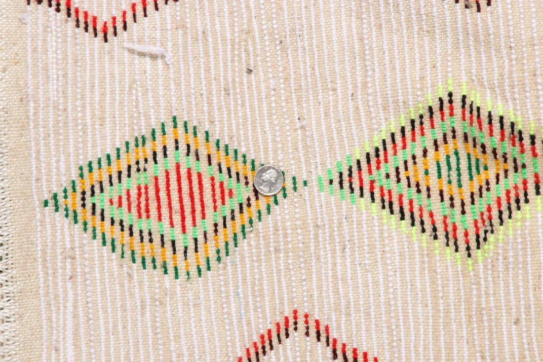 Vintage Moroccan Rug: 4'3'' x 6'4'' - 5
