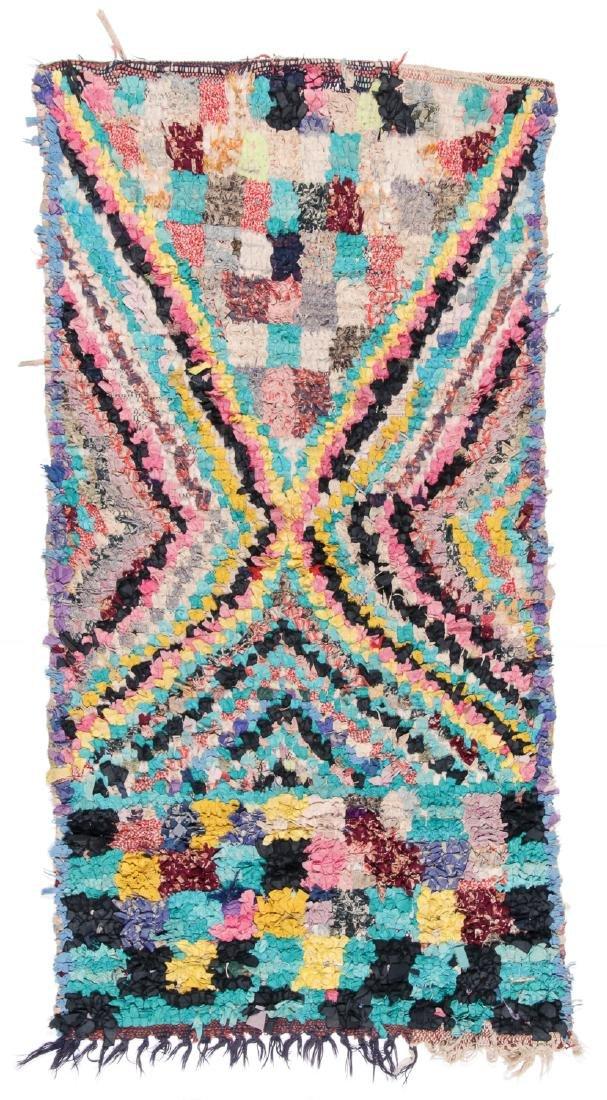 Vintage Moroccan Rug: 2'10'' x 5'6''