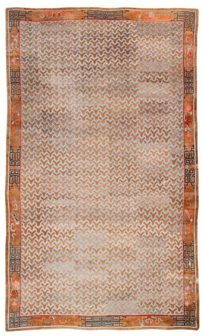 Outstanding Antique Tibetan Monastery Rug: 11'8'' x