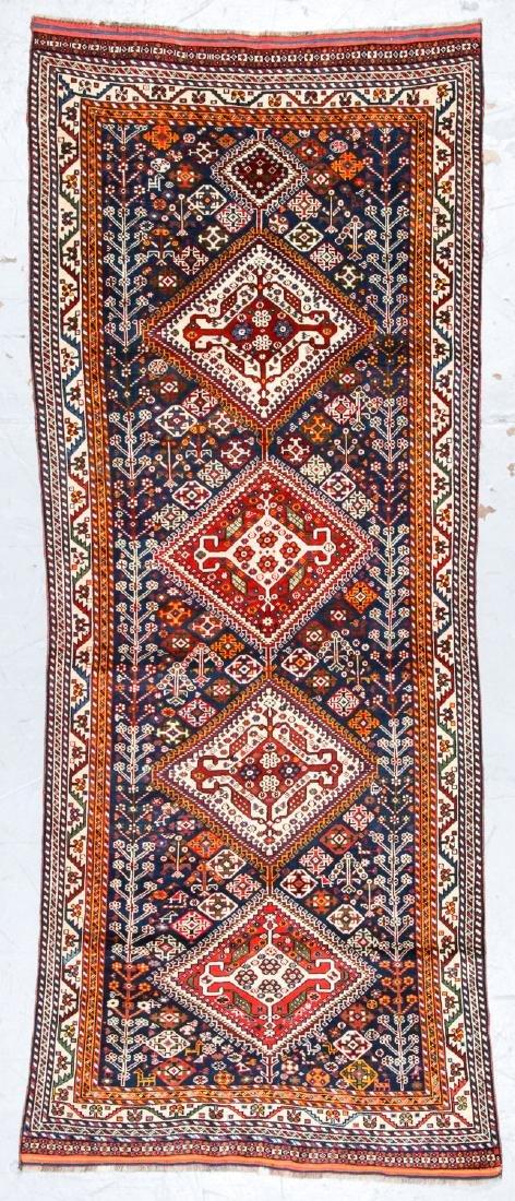 Antique Gashgai Rug, Persia: 3'9'' x 9'3''