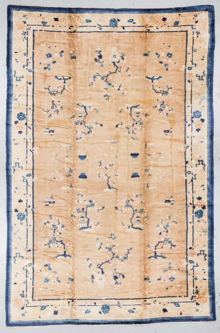 Antique Peking Rug, China: 10' x 15'1''