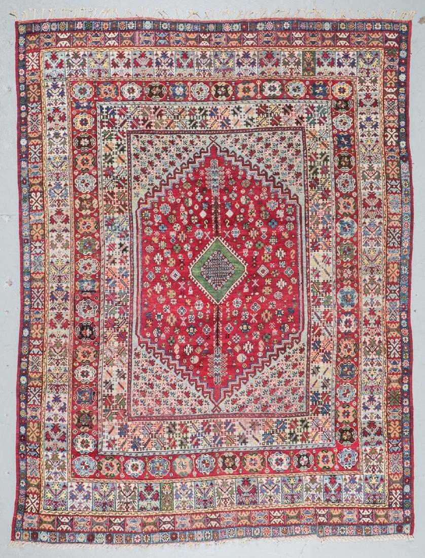 Antique Rabat Rug, Morocco: 9'11'' x 13'2''