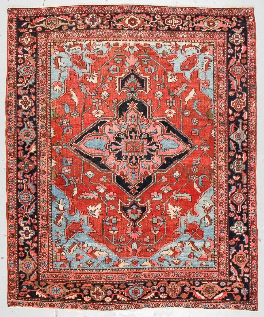 Antique Serapi Rug, Persia: 6'11'' x 8'5''
