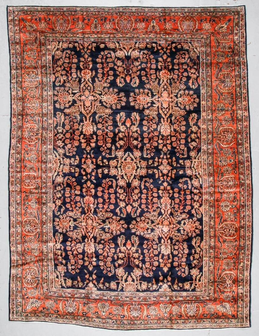 Antique Mahal Rug, Persia: 8'6'' x 11'5''