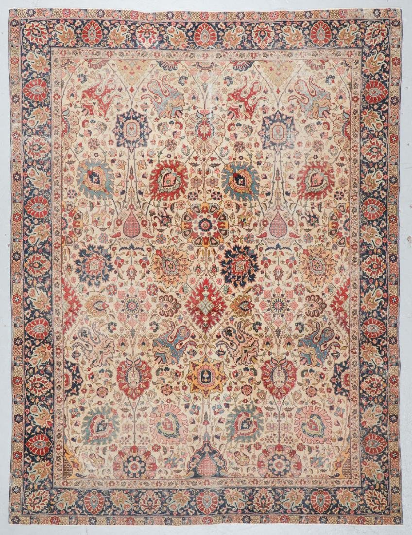 Antique Tabriz Rug, Persia: 8'5'' x 11'3''