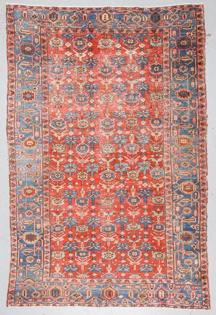 Antique Heriz Rug, Persia: 7'2'' x 10'11''