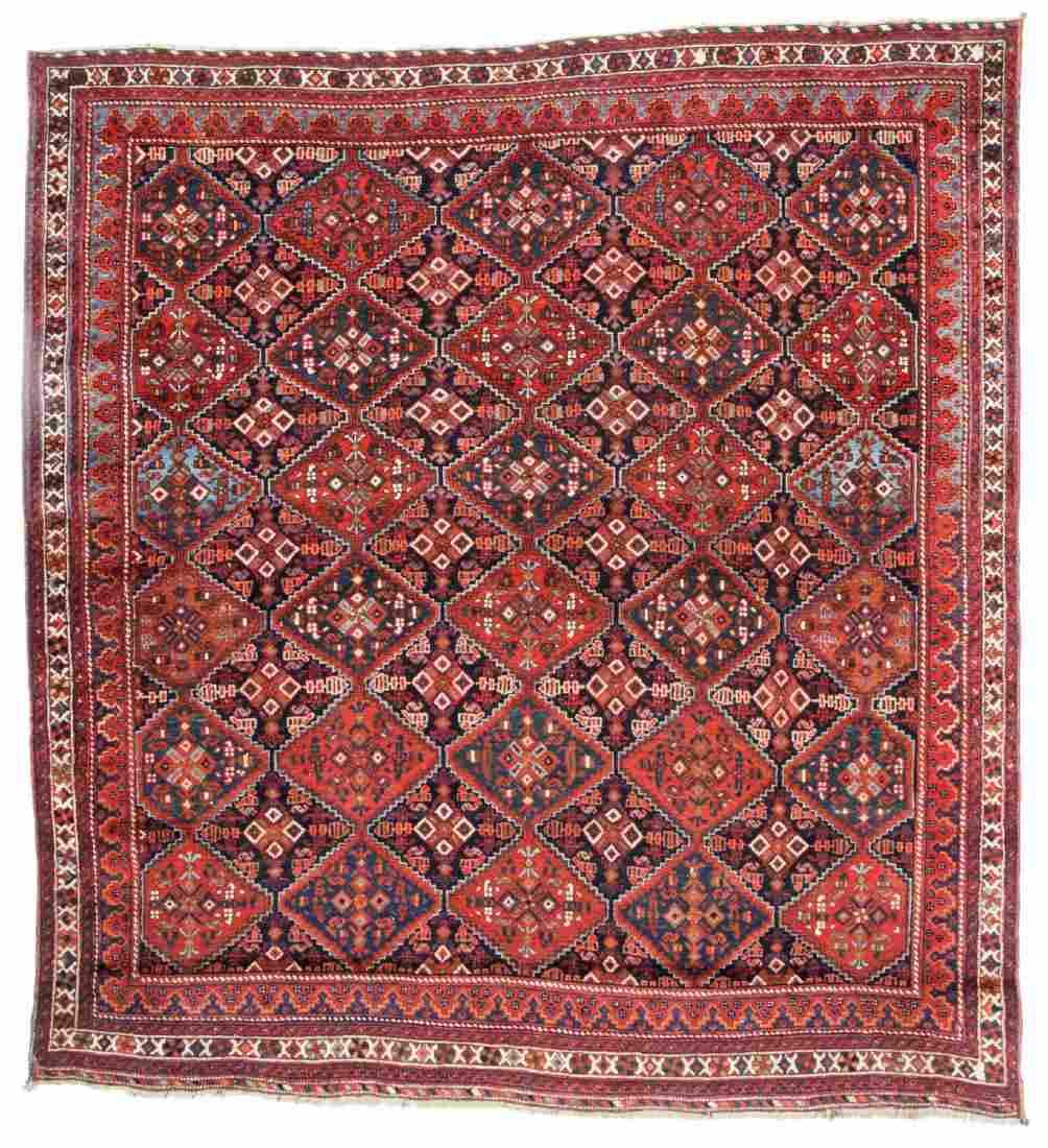 Antique Afshar Rug, Persia: 5'7'' x 5'11''