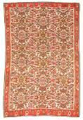 Antique Bidjar Kilim, Persia: 4'2'' x 5'8''