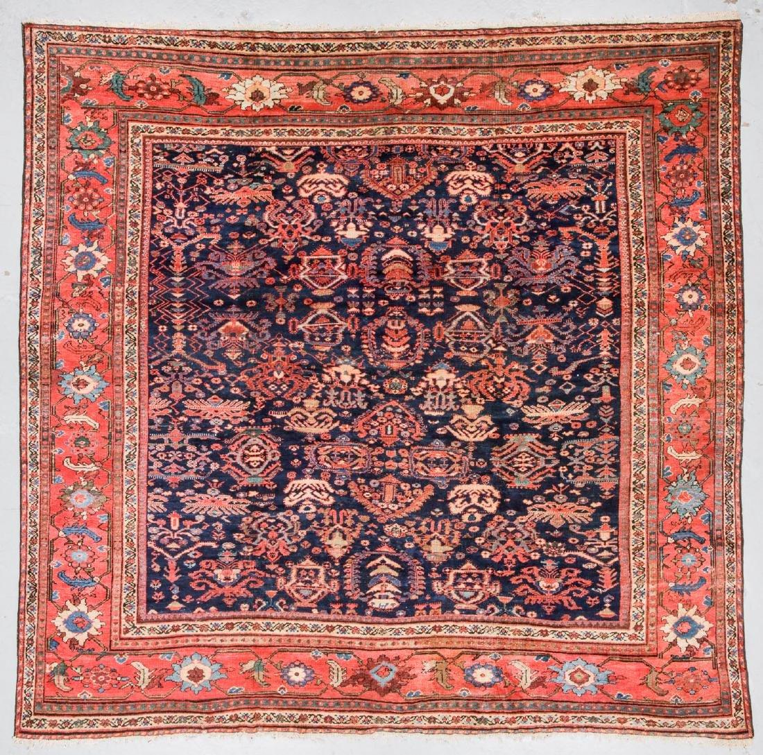 Fine Antique Sultanabad Rug, Persia: 10'3'' x 10'6''