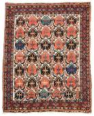 Antique Afshar Rug Persia 48 x 60