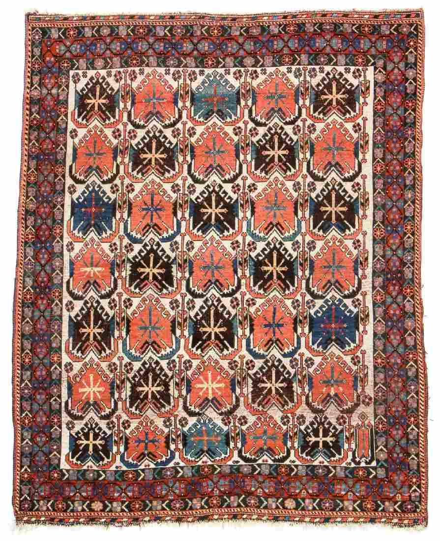 Antique Afshar Rug, Persia: 4'8'' x 6'0''