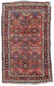 Antique West Persian Kurd Rug, Persia: 4'3'' x 7'9''